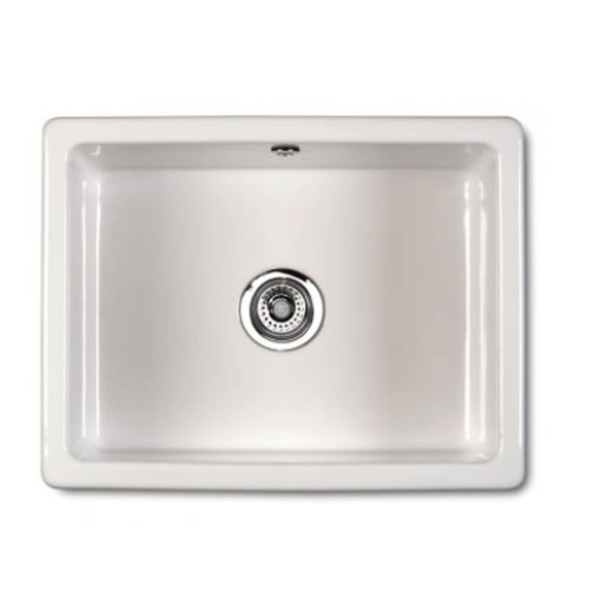 Shaws: Classic Inset Ceramic Sink - Kitchen Sinks & Taps