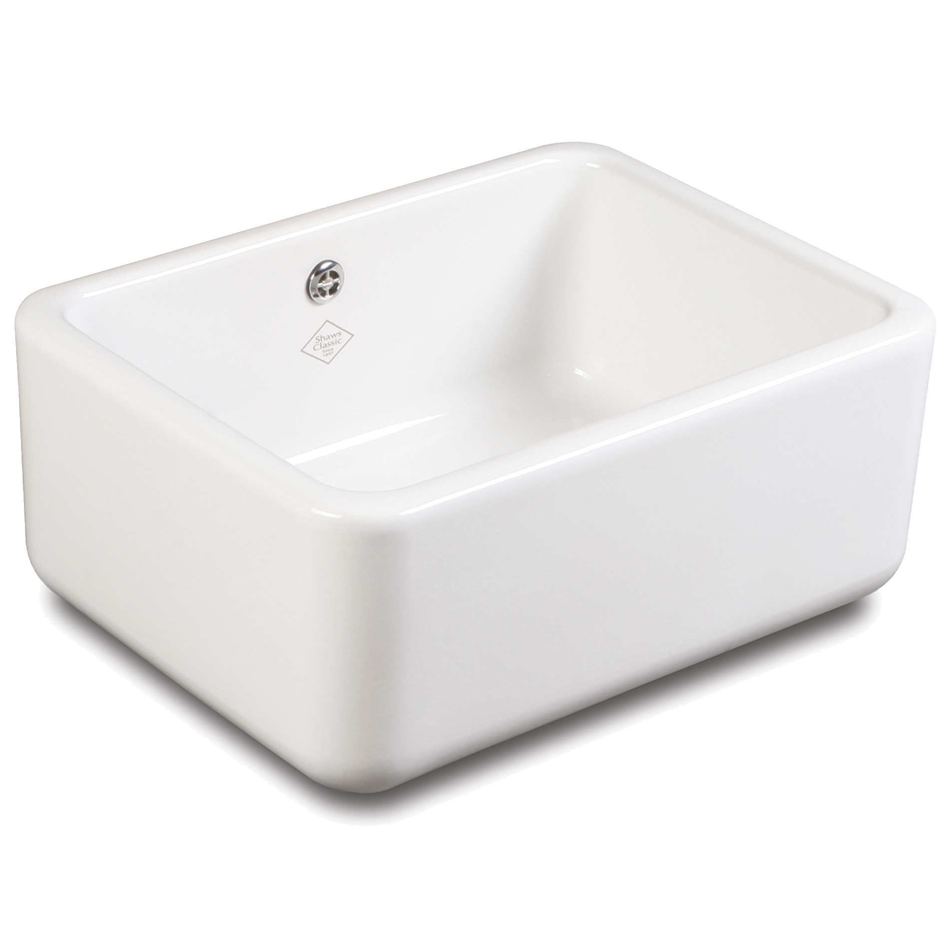 Butler Sink : Shaws: Classic Butler 600 Ceramic Sink - Kitchen Sinks & Taps