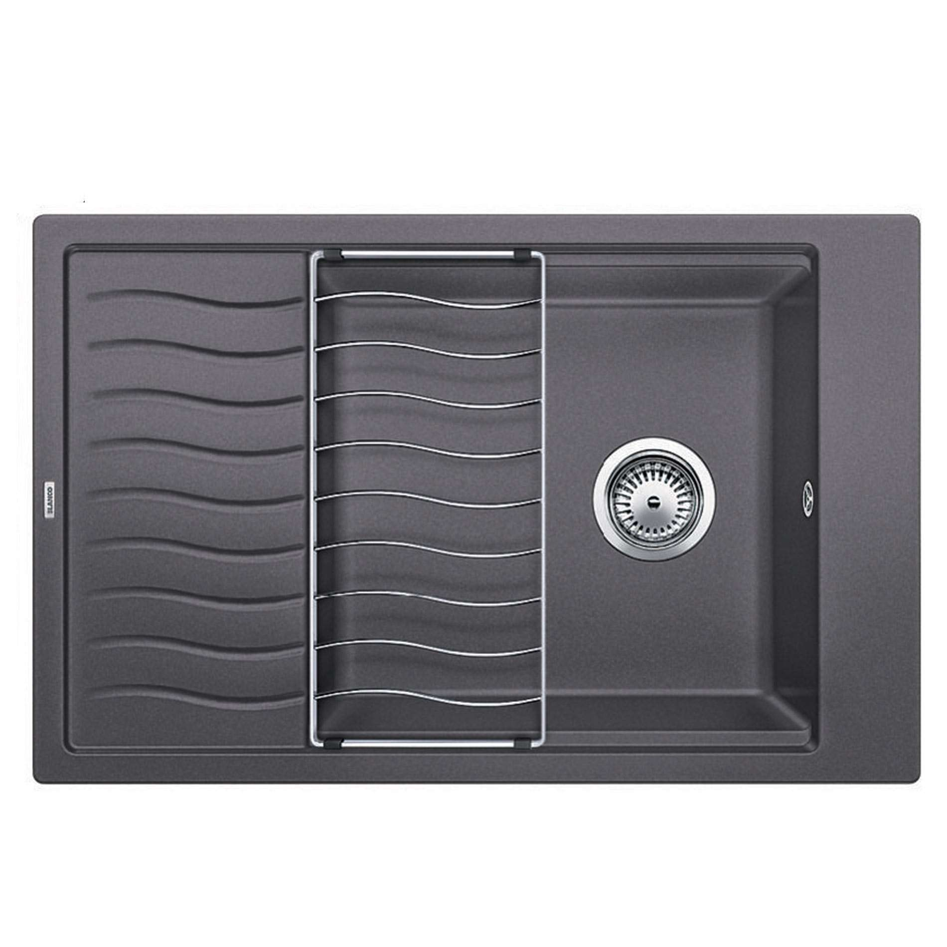 blanco elon xl 6 s rock grey silgranit sink kitchen. Black Bedroom Furniture Sets. Home Design Ideas