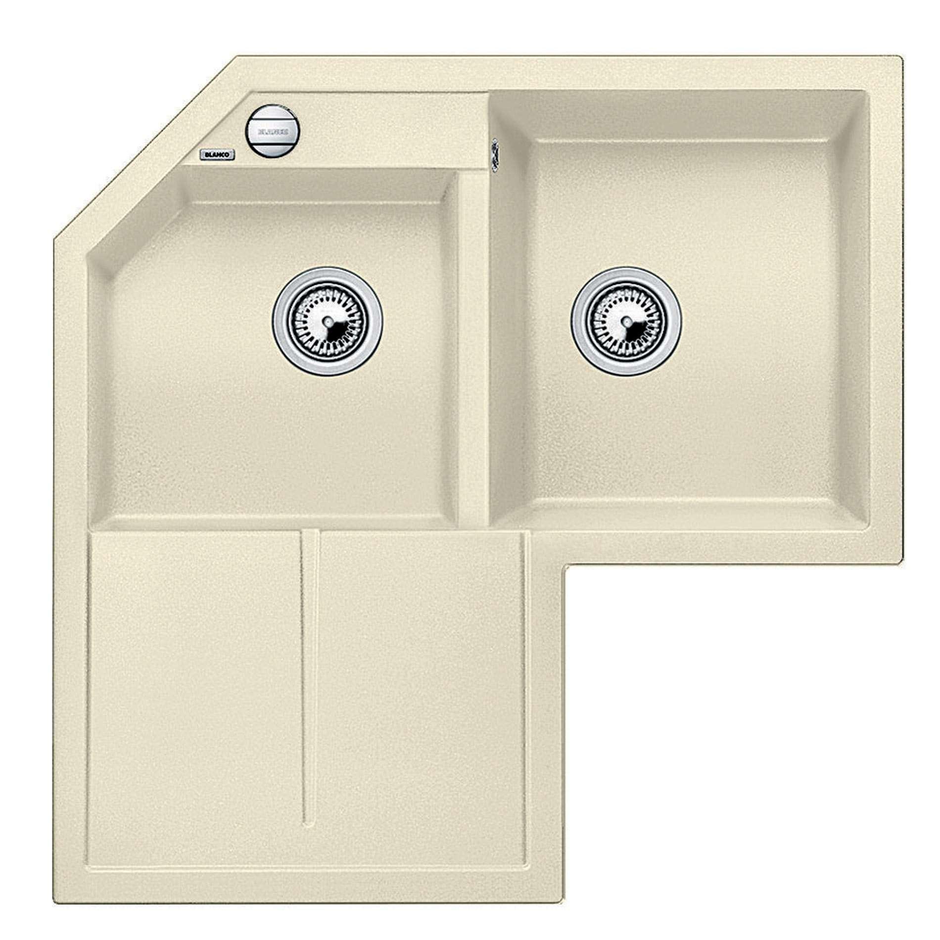 Blanco Metra Sink : Kitchen Sinks & Taps - Blanco: Metra 9 E Jasmin Silgranit Sink