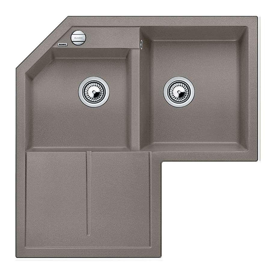 Blanco Metra Sink : Blanco: Metra 9 E Tartufo Silgranit Sink - Kitchen Sinks & Taps