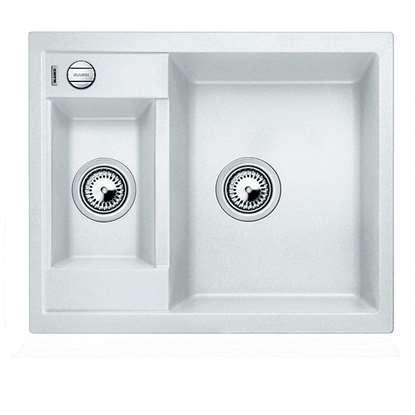 Picture of Blanco: Metra 6 White Silgranit Sink