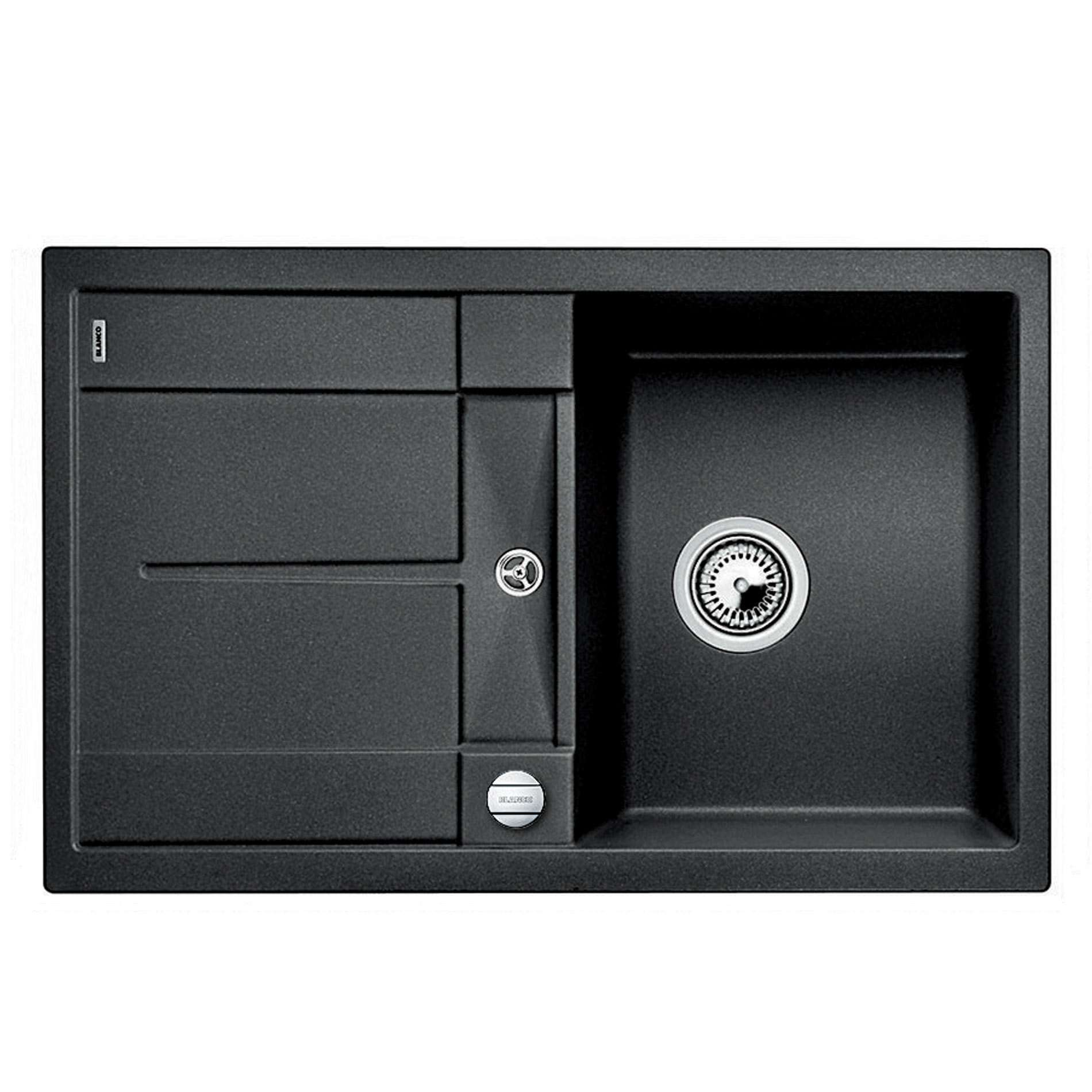 blanco metra 45 s anthracite silgranit sink kitchen. Black Bedroom Furniture Sets. Home Design Ideas