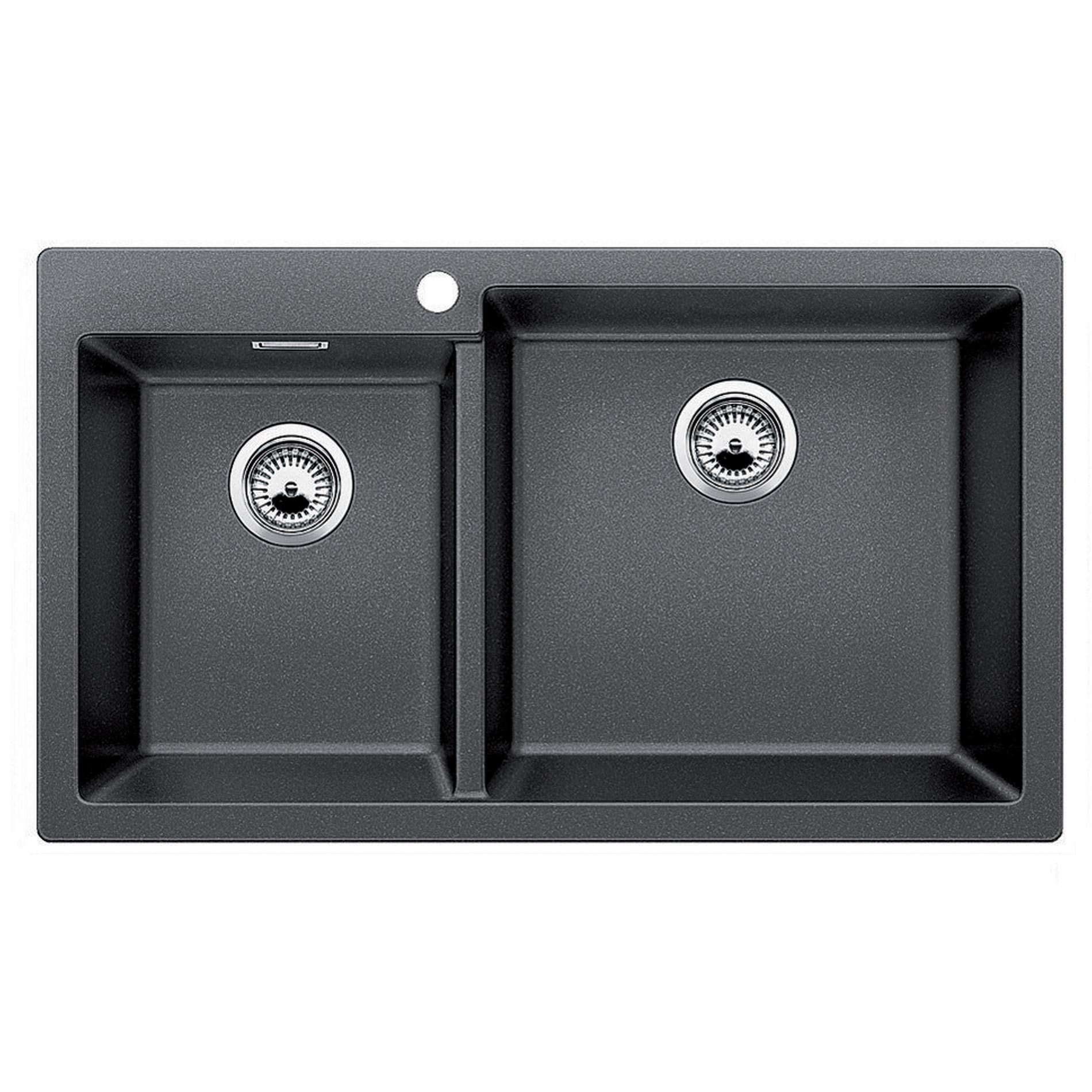 blanco pleon 9 anthracite silgranit sink kitchen sinks. Black Bedroom Furniture Sets. Home Design Ideas
