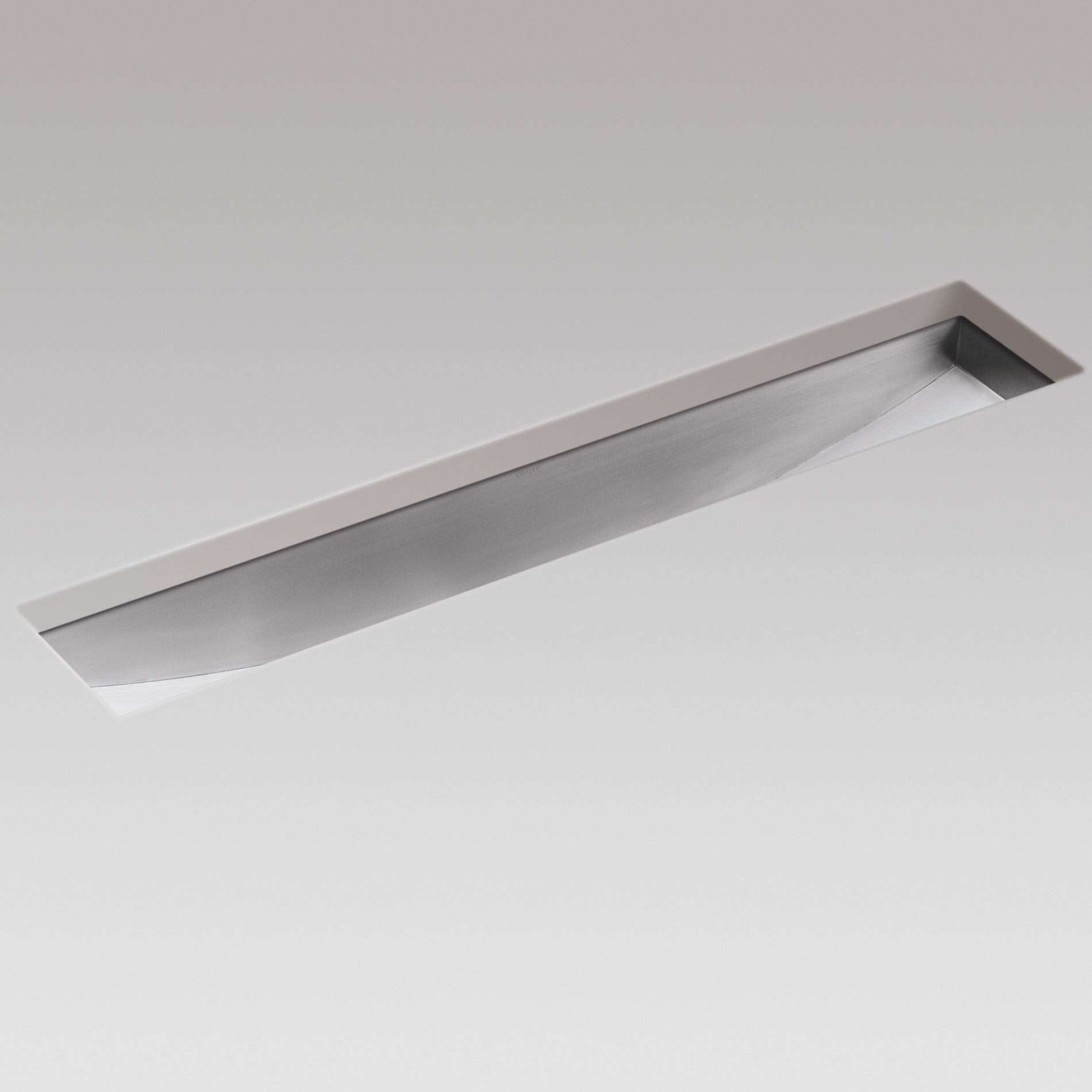 Picture Of Icerock Trough 3188 Stainless Steel Sink