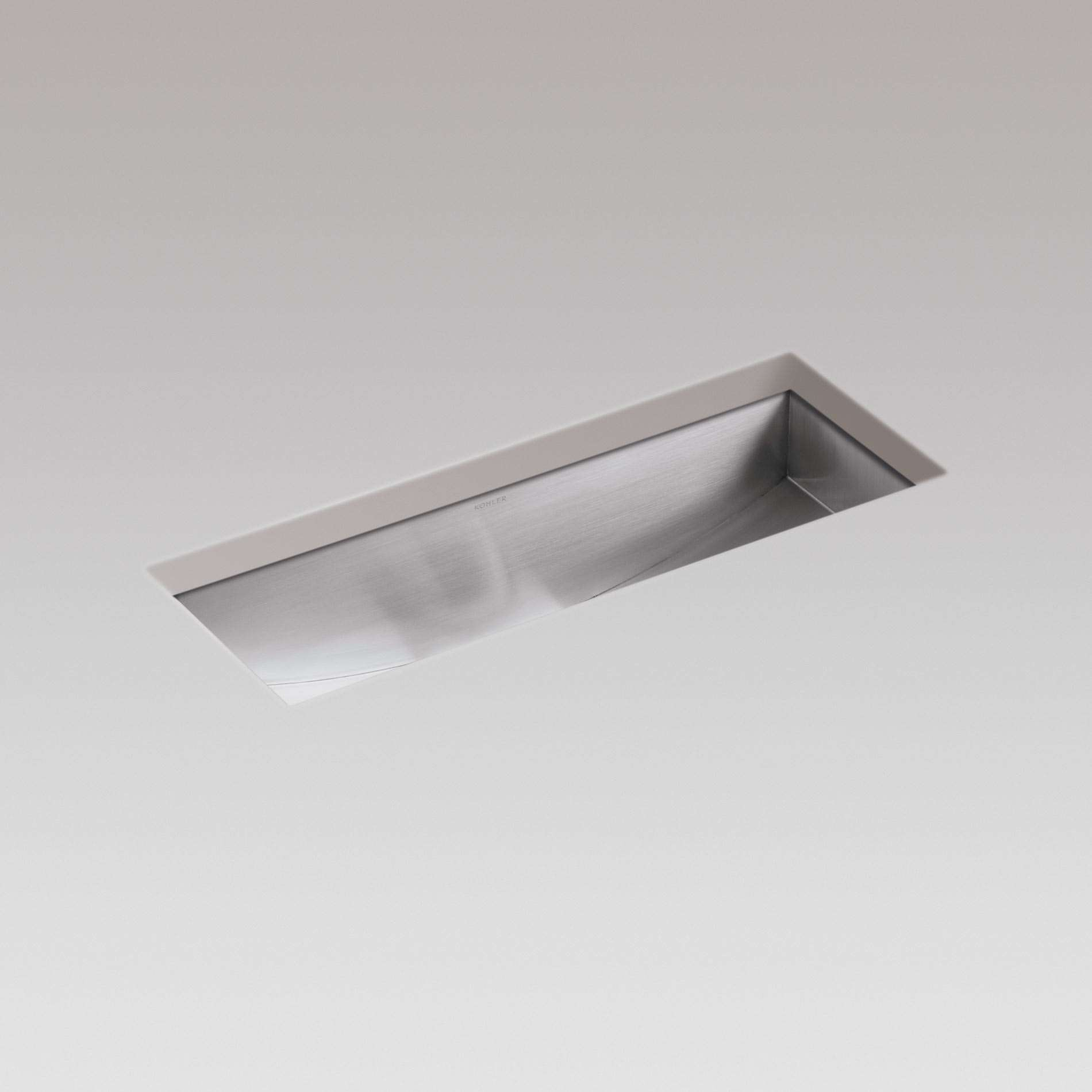 ... : Icerock Trough 3179 Stainless Steel Sink - Kitchen Sinks & Taps