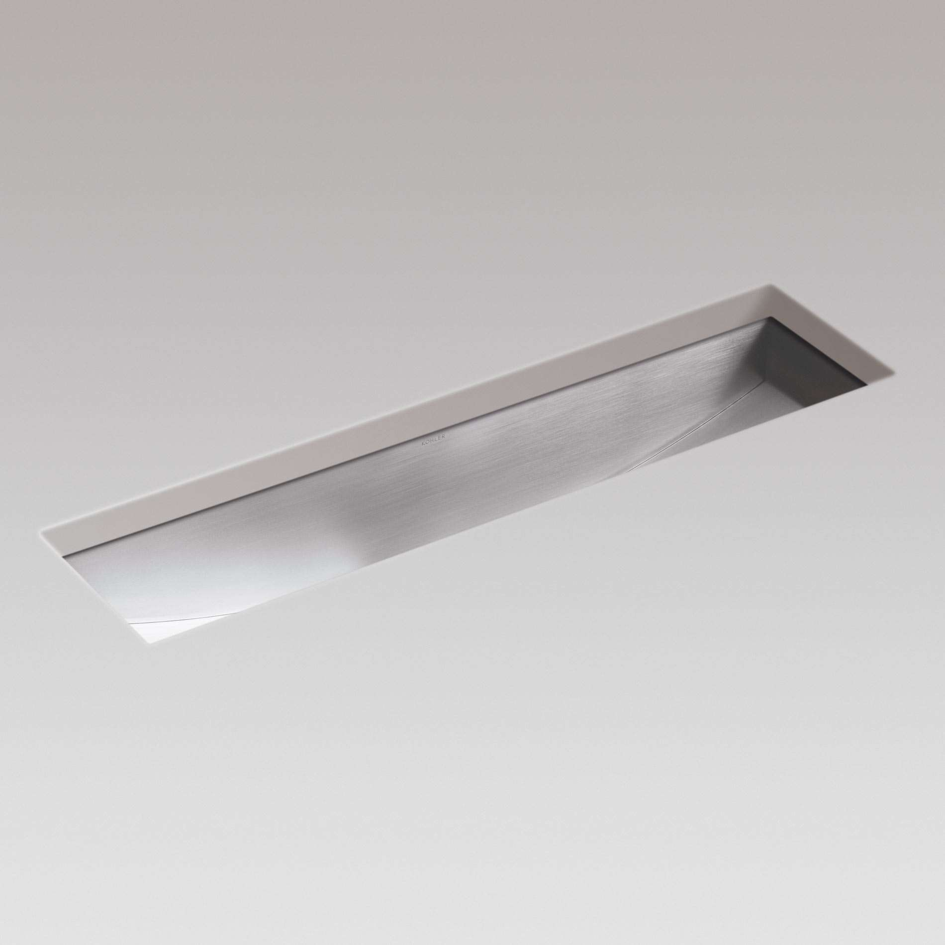 Perfect Picture Of Icerock Trough 3187 Stainless Steel Sink