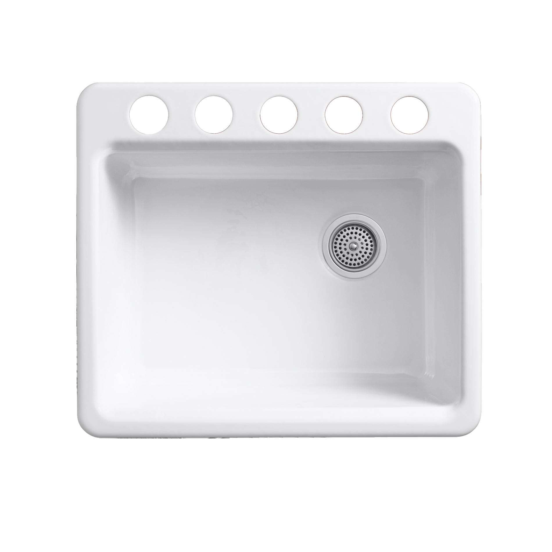 Kohler riverby 5872 undermount cast iron sink kitchen - Cast iron kitchen sink manufacturers ...