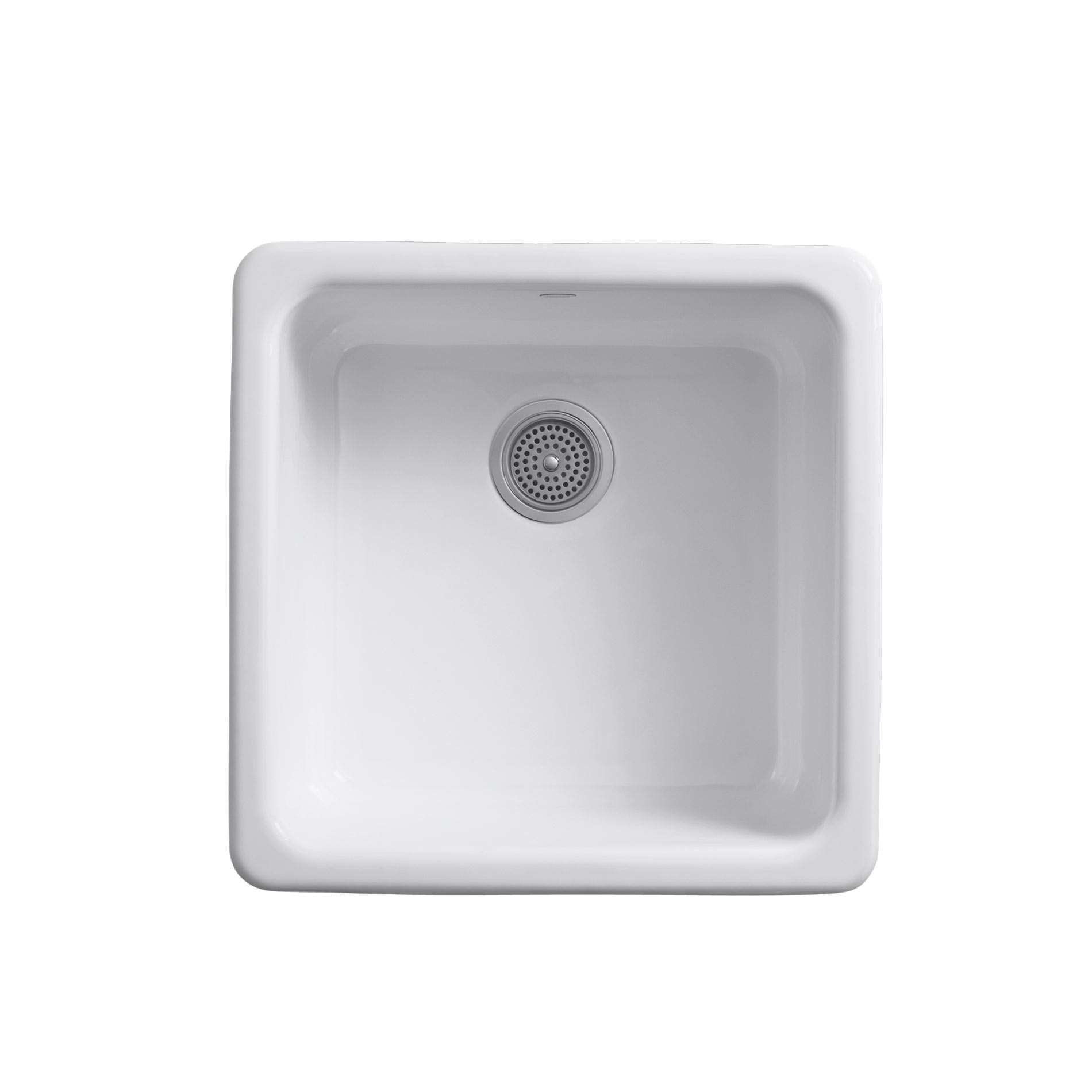 Kohler iron tones 6587 cast iron sink kitchen sinks taps for Cast iron sink manufacturers