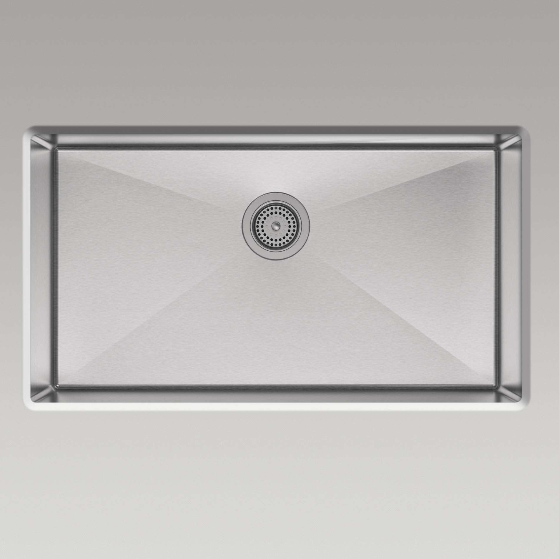 Kohler Strive Sink : Kohler: Strive 5285-NA Stainless Steel Sink - Kitchen Sinks & Taps