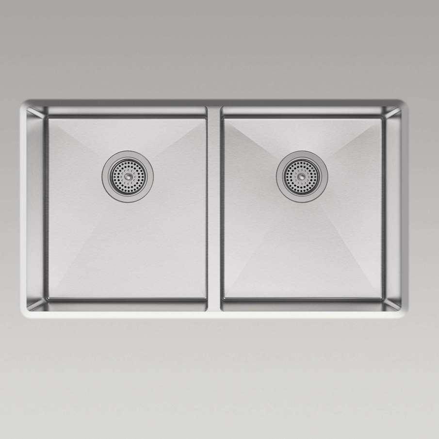 Kohler Strive Sink : Kohler: Strive 5281-NA Stainless Steel Sink - Kitchen Sinks & Taps