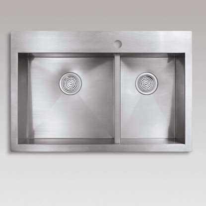 Picture of Kohler: Vault 3823 Stainless Steel Sink