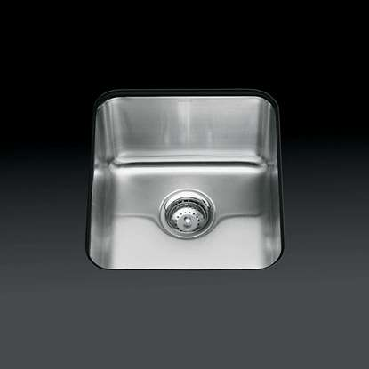 Picture of Kohler: Icerock 3331 Single Stainless Steel Sink