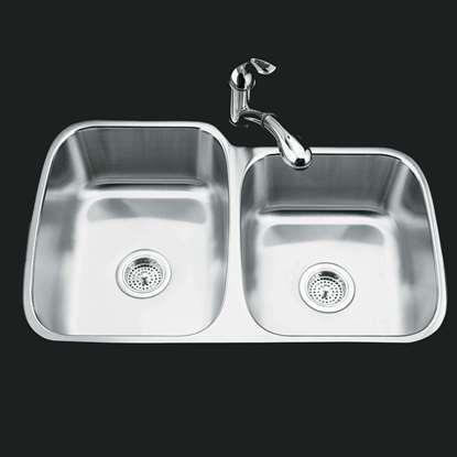 Picture of Kohler: Icerock 3356 Stainless Steel Sink
