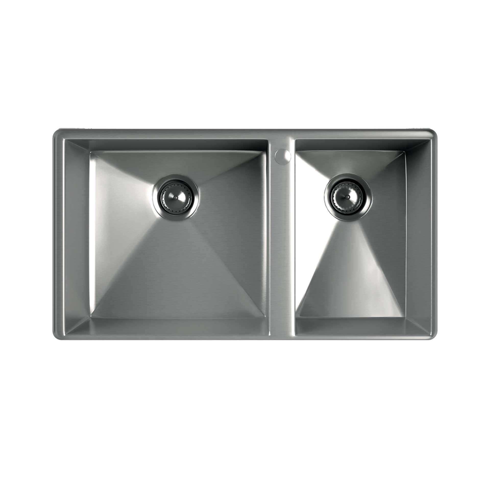 Stainless Steel Sink Manufacturers : Kohler: Geog 1-5 Bowl Stainless Steel Sink - Kitchen Sinks & Taps