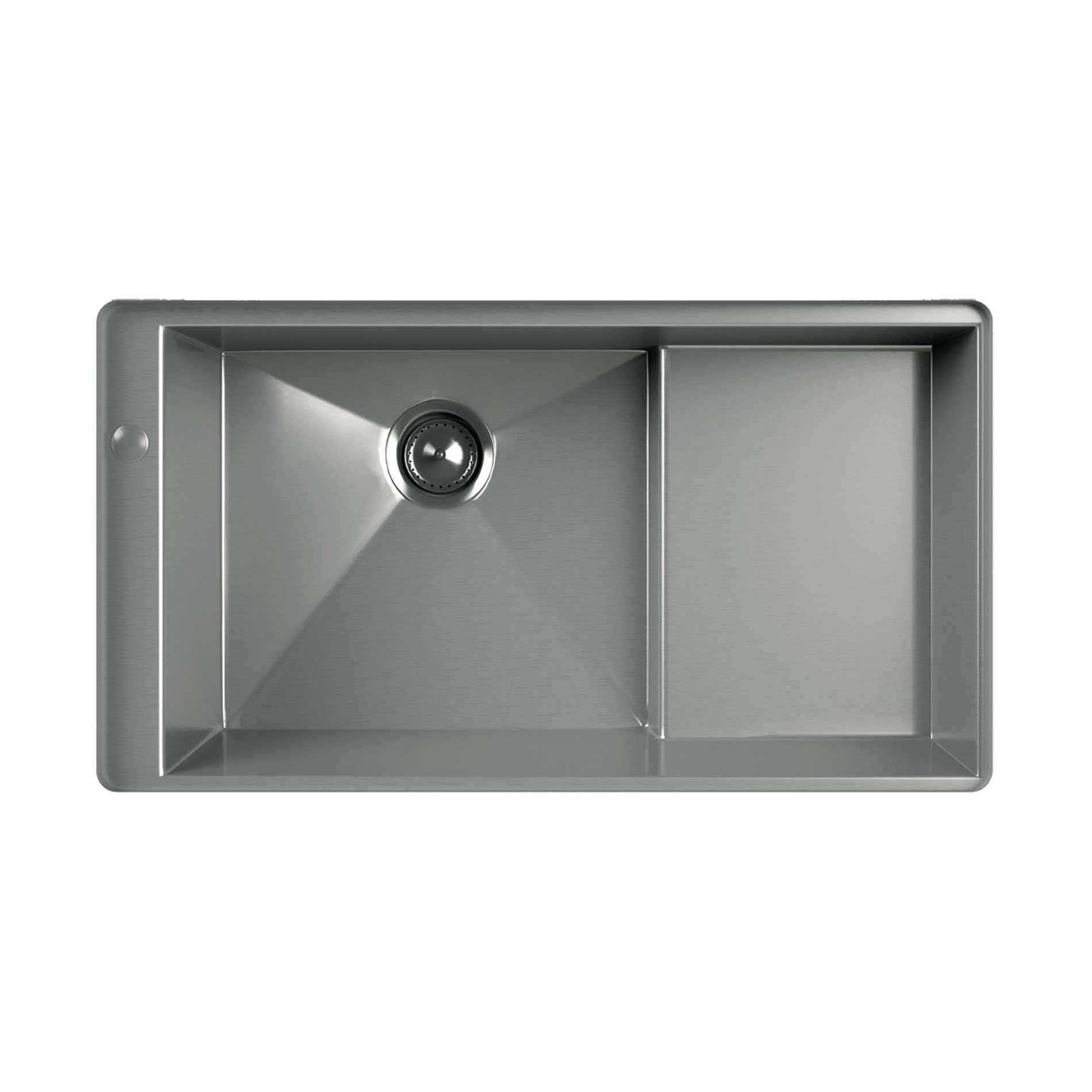 Stainless Steel Sink Manufacturers : Kohler: Geog 1-0 Bowl Stainless Steel Sink - Kitchen Sinks & Taps