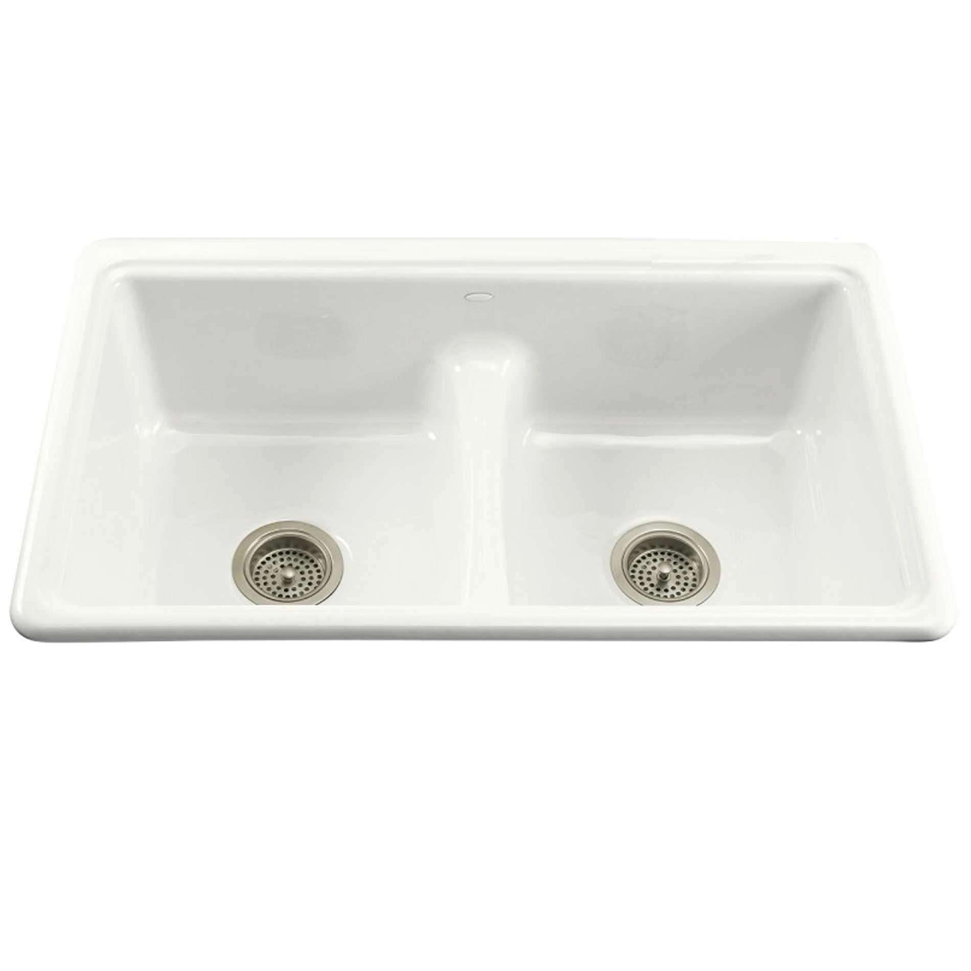 Picture of Deerfield 5838-0 White Cast Iron Sink
