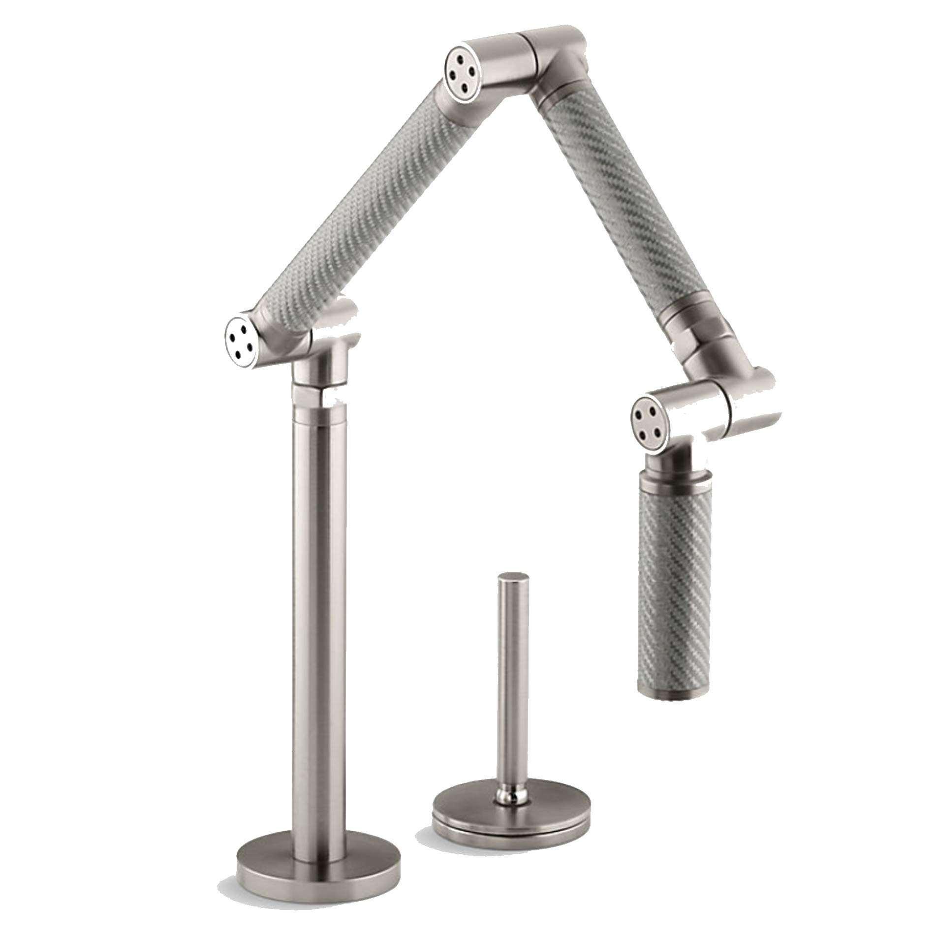Kohler Karbon Silver Stainless Steel Tap Kitchen Sinks