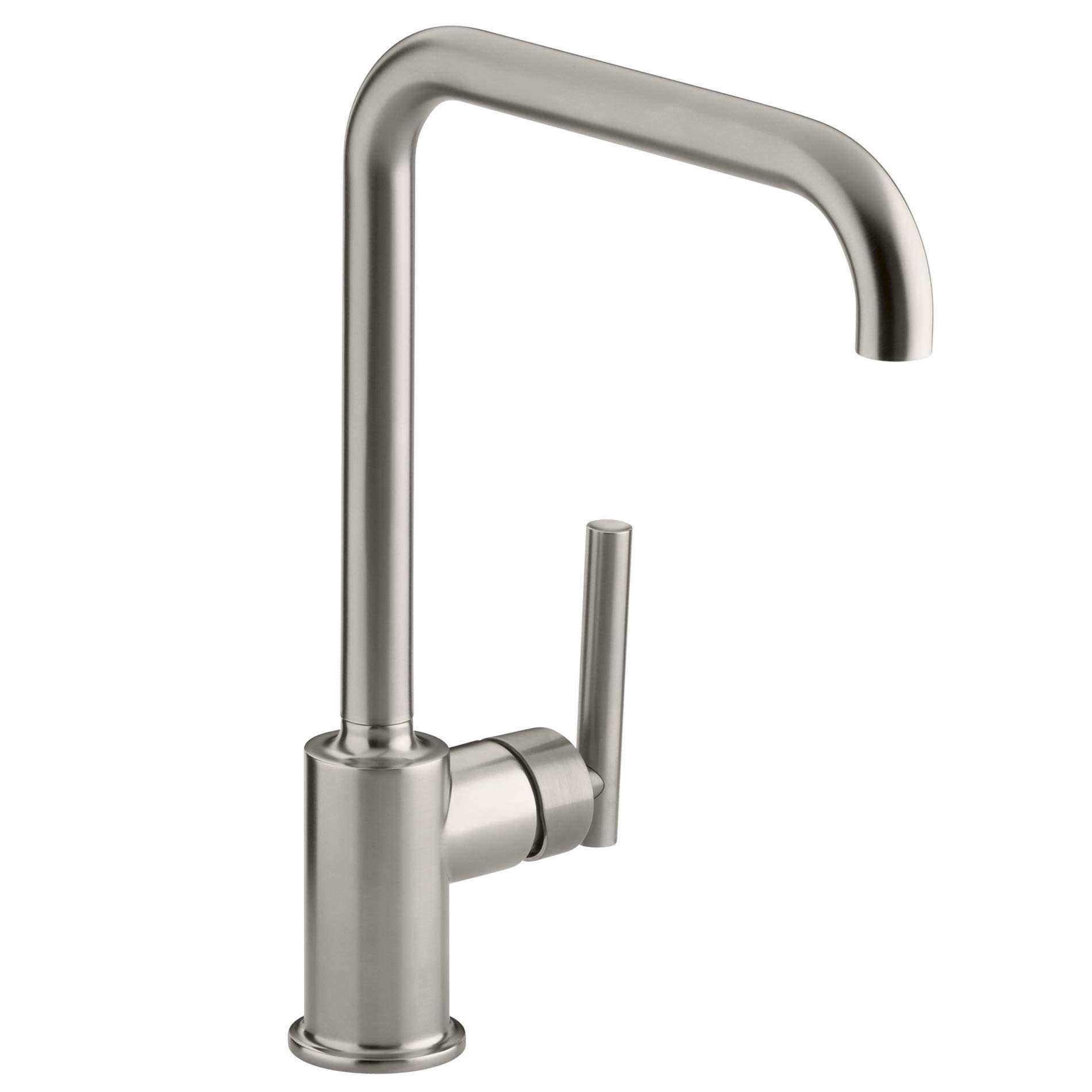 Picture of Purist Brushed Steel Tap