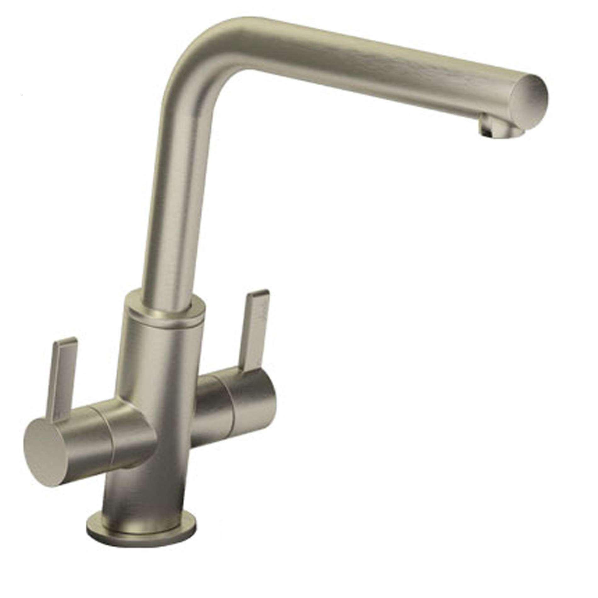 Abode: Estimo Brushed Nickel Tap AT1233 - Kitchen Sinks & Taps