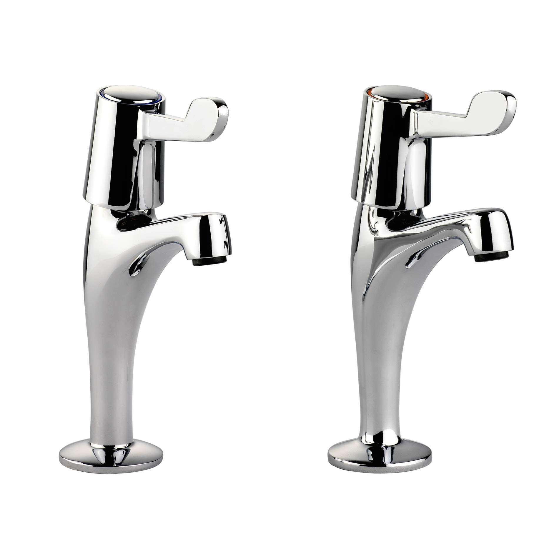 kitchen sink pillar taps leisure pillar lever tpt1cm lv chrome tap kitchen sinks 5889
