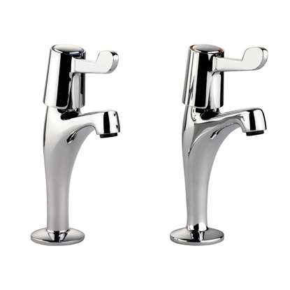 Picture of Leisure: Pillar Lever TPT1CM/LV Chrome Tap
