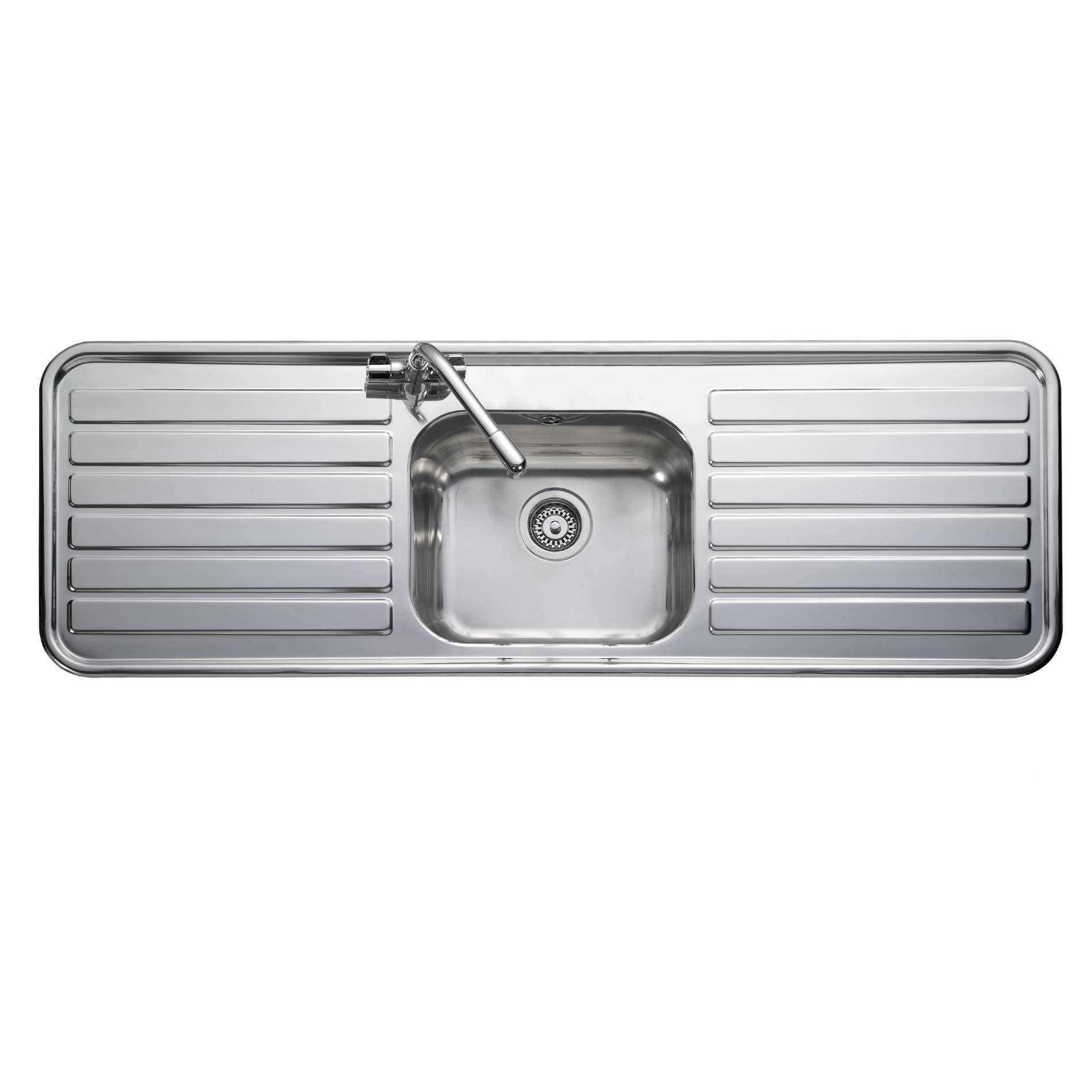 Kitchen Sinks Double Drainer Leisure luxe lx155 stainless steel sink kitchen sinks taps picture of luxe lx155 stainless steel sink workwithnaturefo