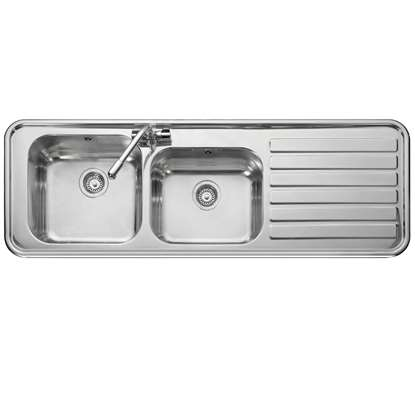 Picture of Leisure: Luxe LX155 Handed Stainless Steel Sink