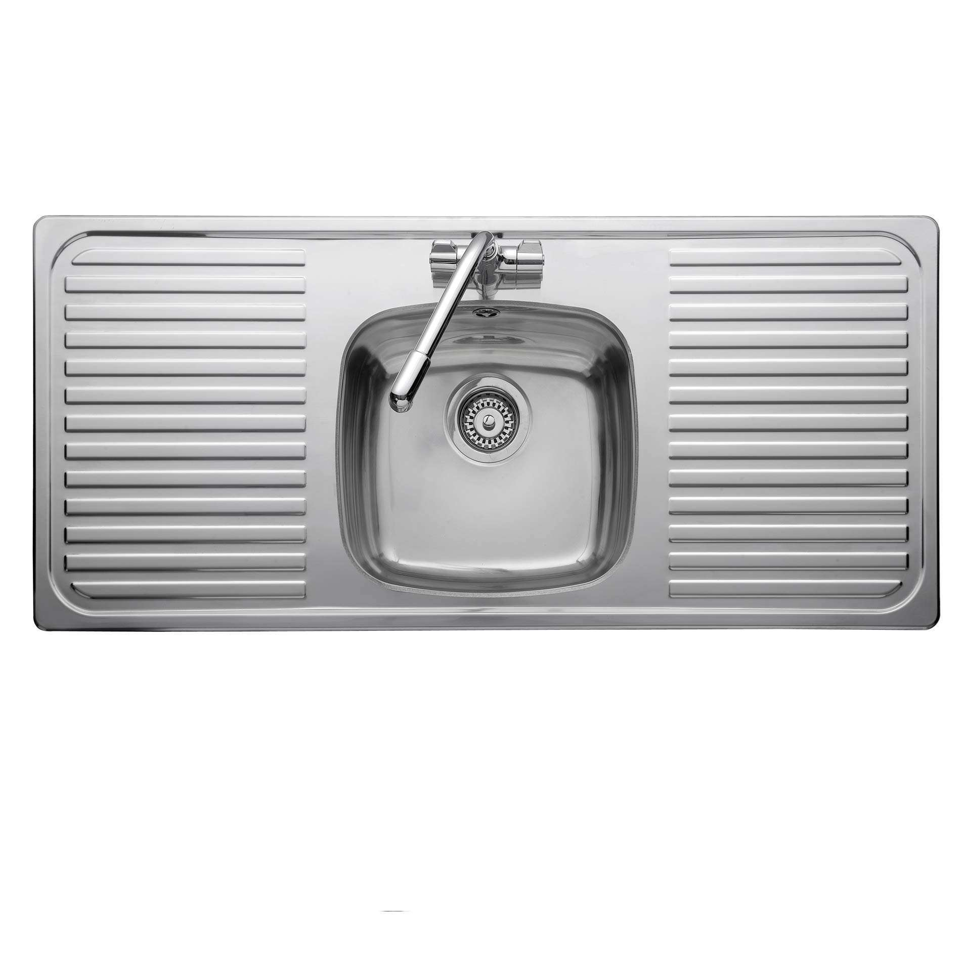 Leisure: Linear LR11601TH Stainless Steel Sink - Kitchen Sinks & Taps