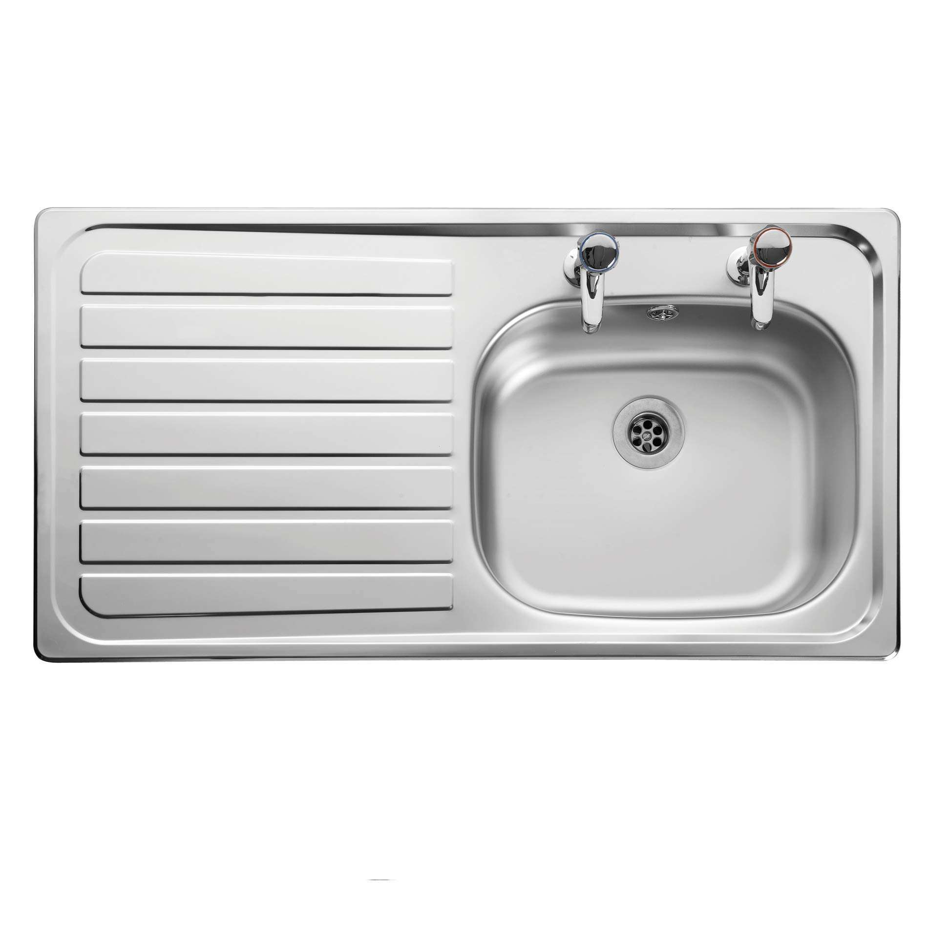 Leisure: Lexin LE95 Stainless Steel Sink - Kitchen Sinks & Taps