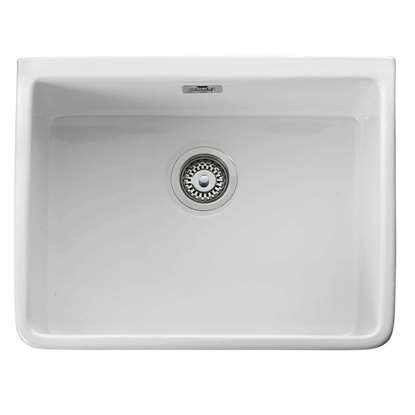 Picture of Leisure: Belfast CBL595WH Ceramic Single Bowl Sink