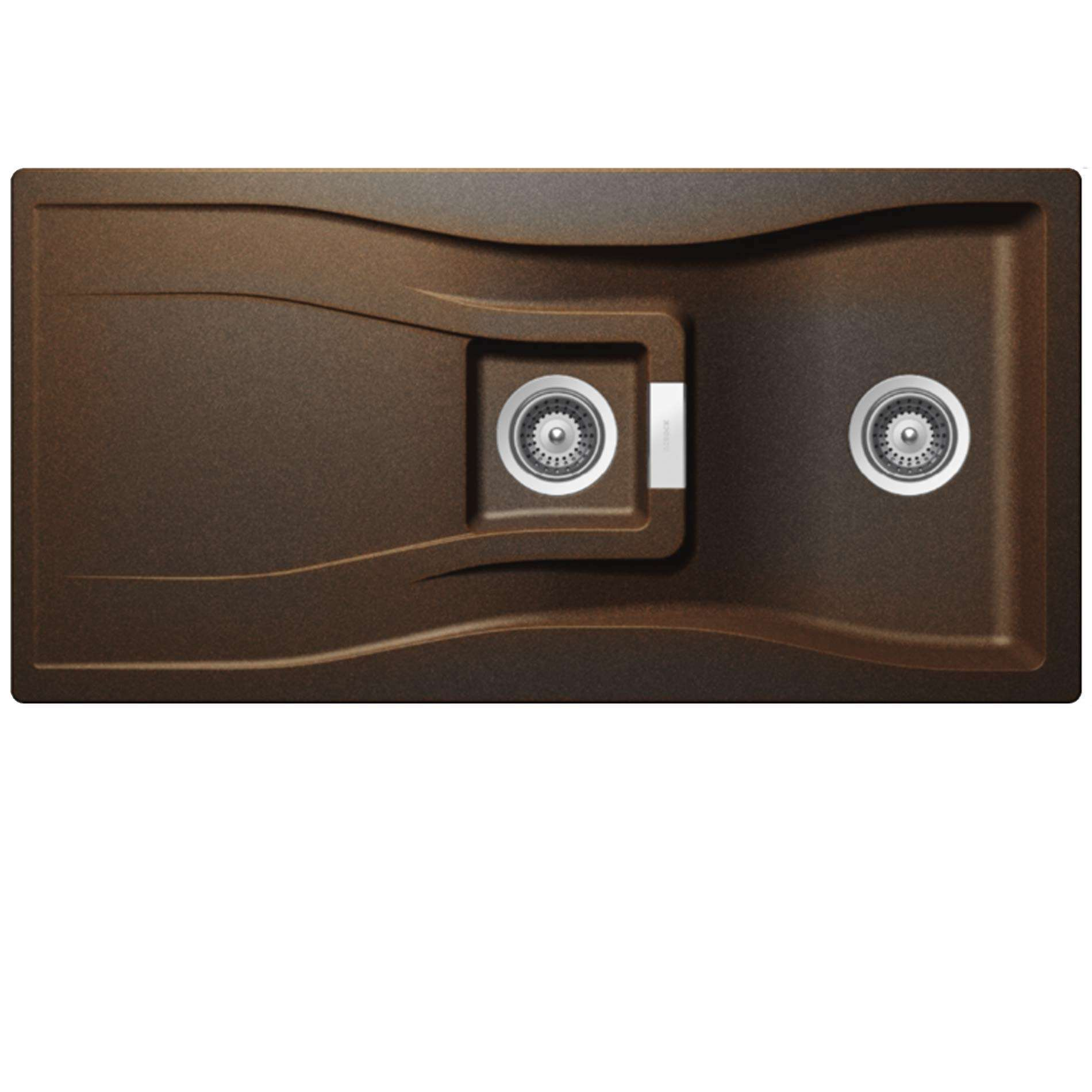 Granite Sink Brands : ... : Waterfall WAT D 150 Vintage Granite Sink - Kitchen Sinks & Taps