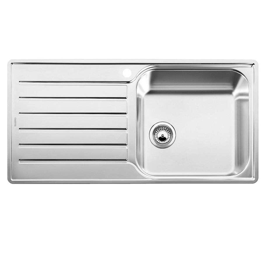 blanco lantos xl 6 s if single bowl sink kitchen sinks taps. Black Bedroom Furniture Sets. Home Design Ideas