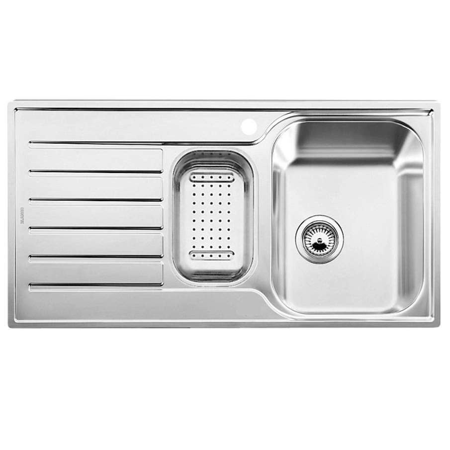 Blanco Stainless Sinks : Kitchen Sinks & Taps - Blanco: Lantos 6 S-IF Stainless Steel Sink