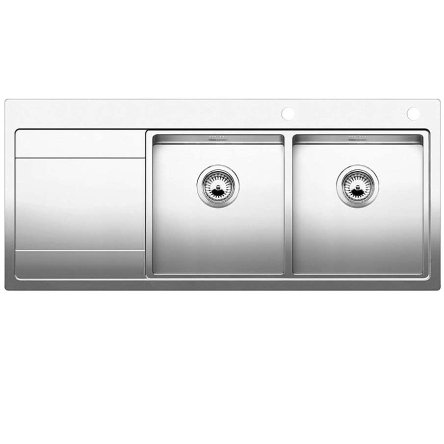 Komplett Neu Blanco: Divon II 8 S-IF Stainless Steel Sink - Kitchen Sinks & Taps TE86