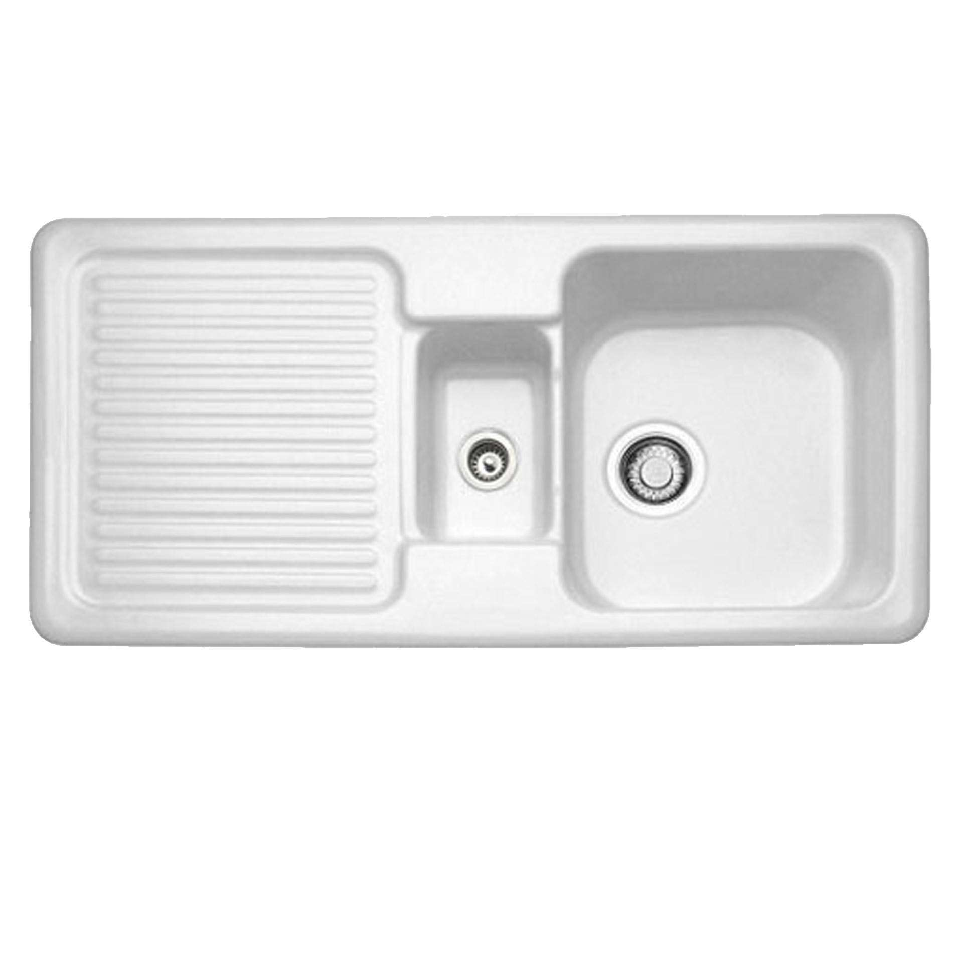 Villeroy & Boch: Condor 60 Ceramic Sink - Kitchen Sinks & Taps