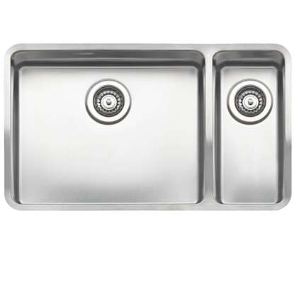 Picture of Reginox: Ohio 50 x 40 + 18 x 40 Stainless Steel Sink