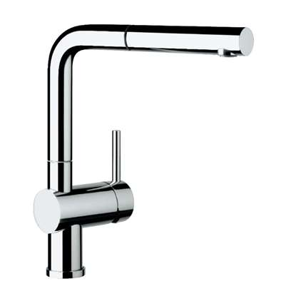 Picture of Blanco: Linus-S Pull Out Chrome Tap