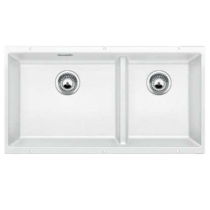 Picture of Blanco: Subline 480/320-U White Silgranit Sink