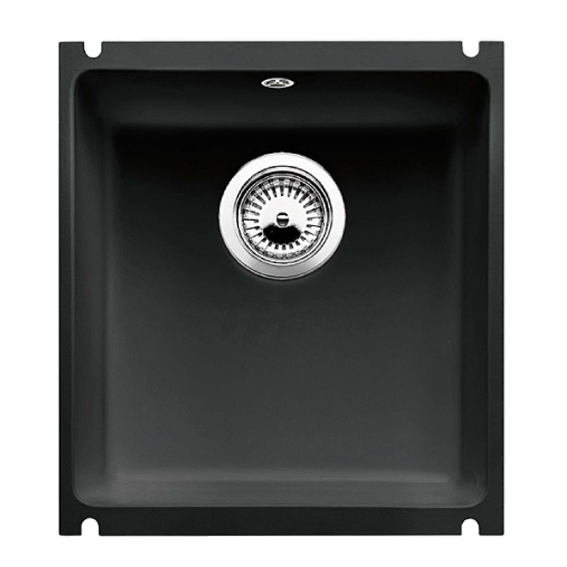 Blanco subline 375 u black ceramic sink kitchen sinks taps picture of subline 375 u black ceramic sink workwithnaturefo