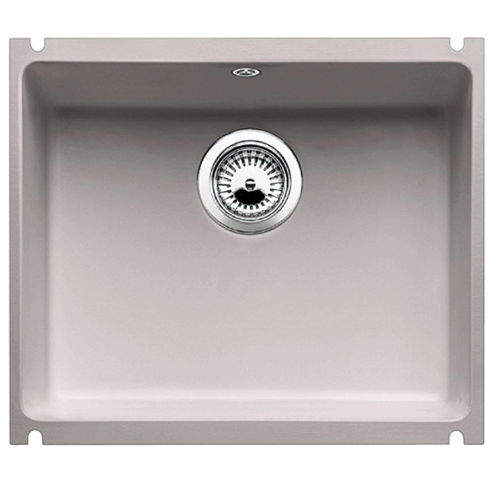 Blanco Und 8529 Subline 500 U Alugrey Ceramic Sink Amp Arti