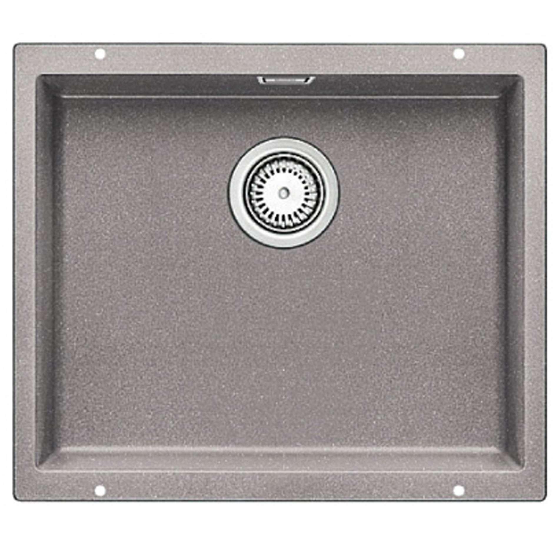 blanco subline 500 u alumetallic silgranit sink kitchen sinks taps. Black Bedroom Furniture Sets. Home Design Ideas
