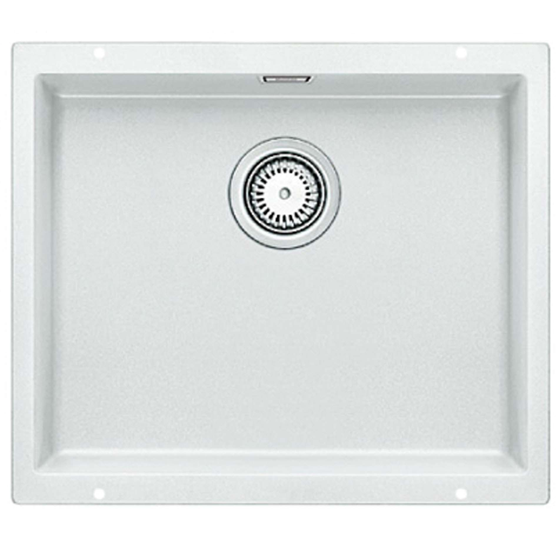 blanco subline 500 u white silgranit sink kitchen sinks taps. Black Bedroom Furniture Sets. Home Design Ideas