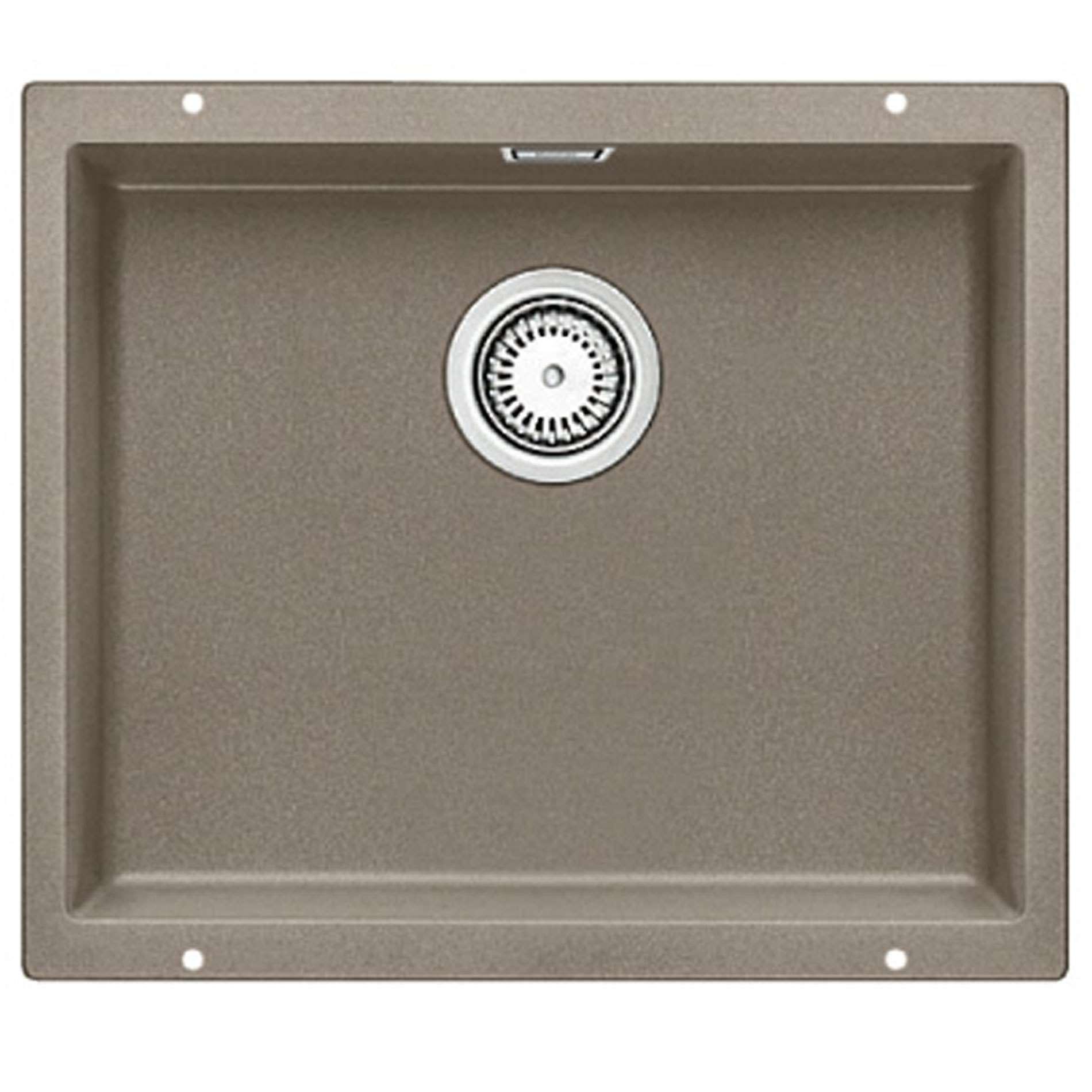 blanco subline 500 u tartufo silgranit sink kitchen sinks taps. Black Bedroom Furniture Sets. Home Design Ideas