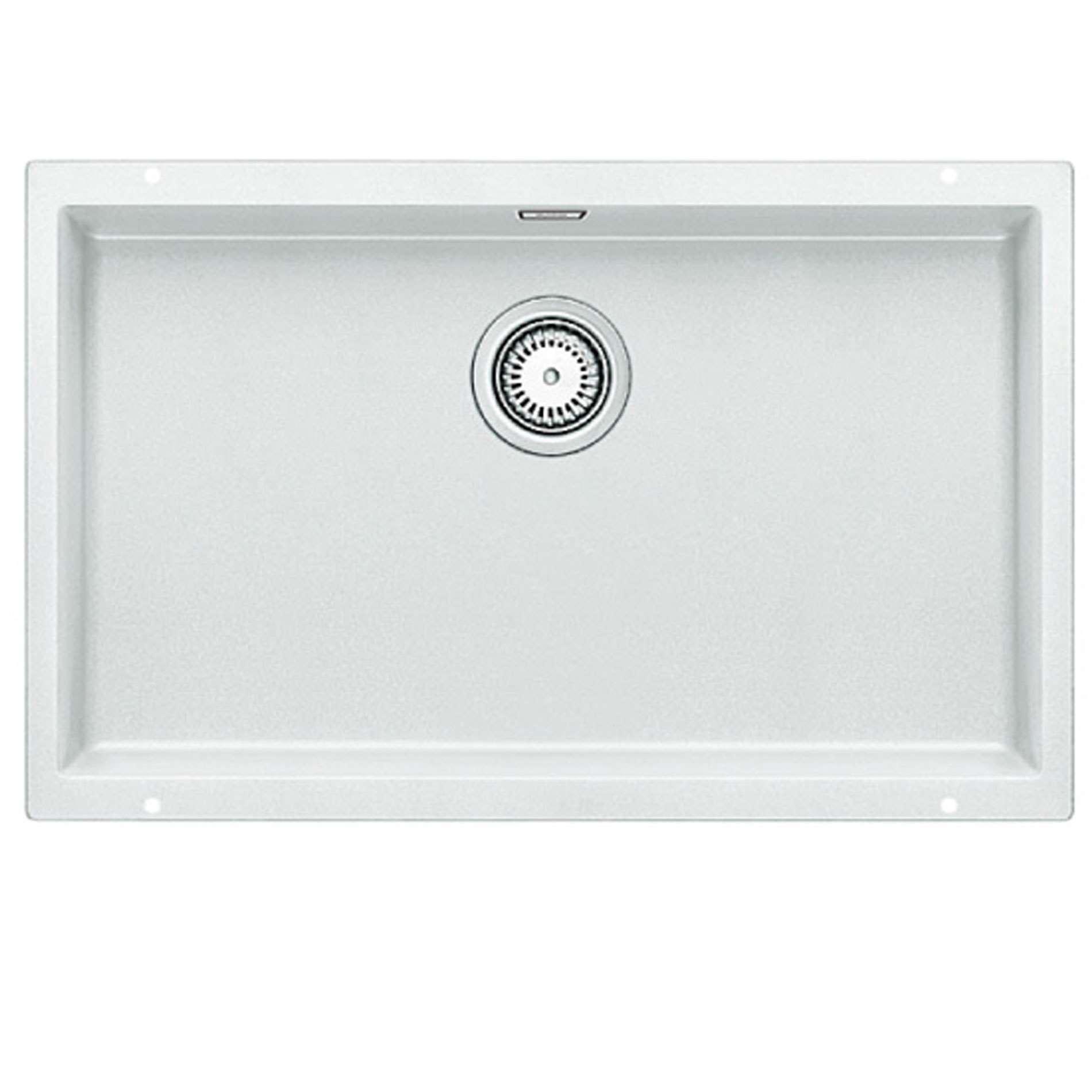 blanco subline 700 u white silgranit sink kitchen sinks. Black Bedroom Furniture Sets. Home Design Ideas