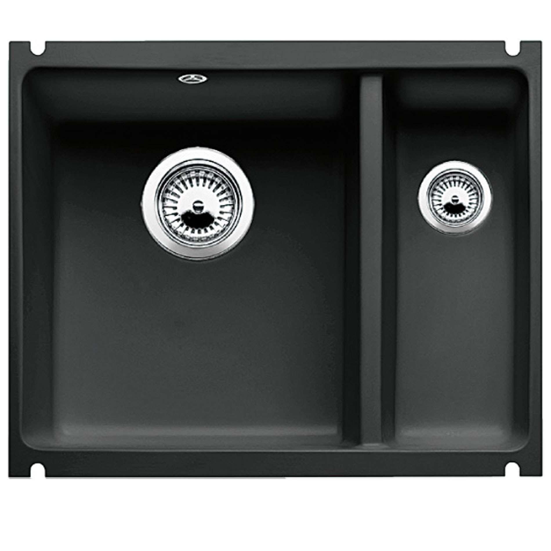 Blanco Subline 350 150 U Black Ceramic Sink Kitchen
