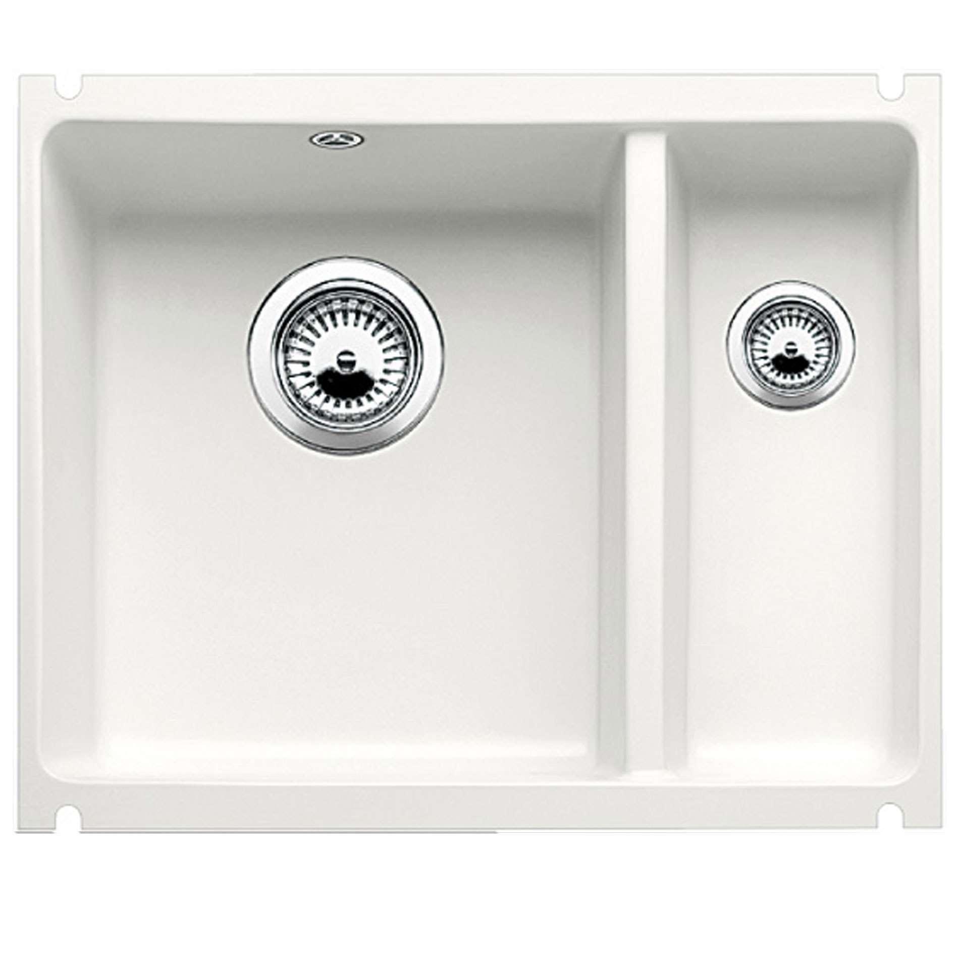 Blanco Subline 350 150 U Crystal White Ceramic Sink