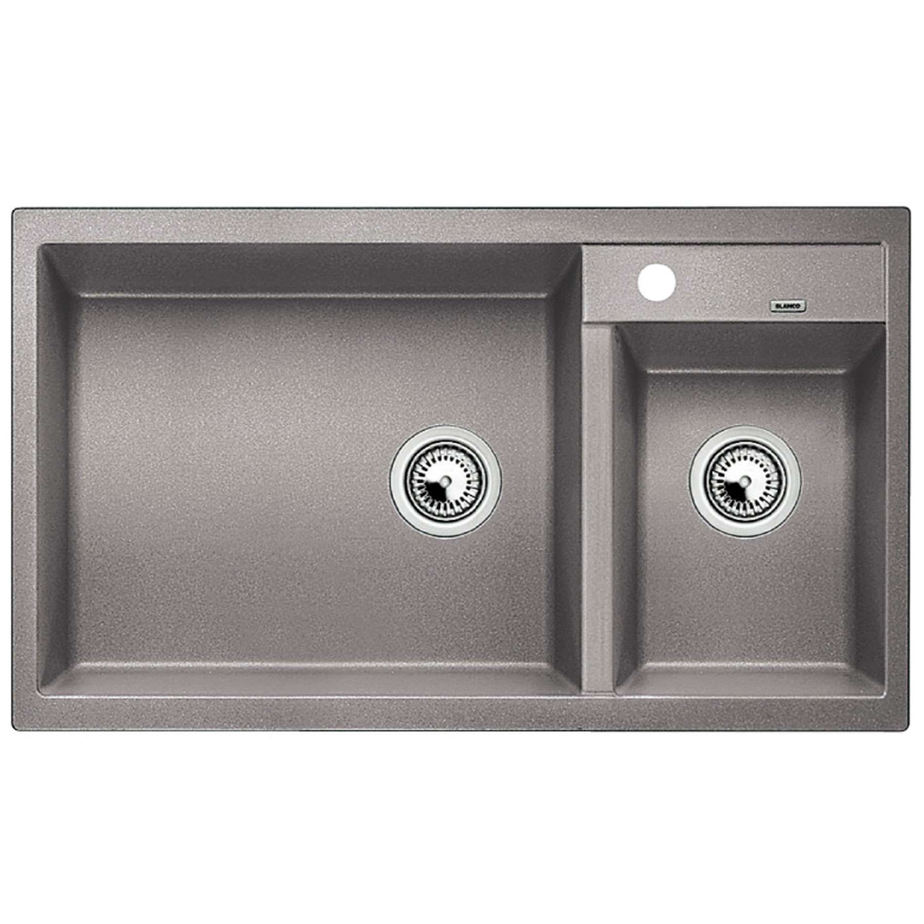 Blanco: Metra 9 Alumetallic Silgranit Sink - Kitchen Sinks & Taps