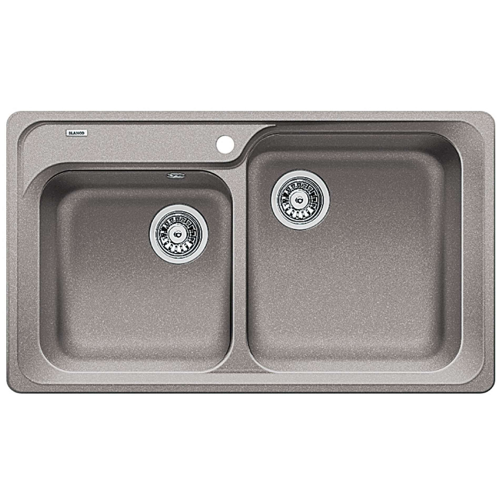 Blanco Classic : Blanco: Classic 8 Alumetallic Silgranit Sink - Kitchen Sinks & Taps