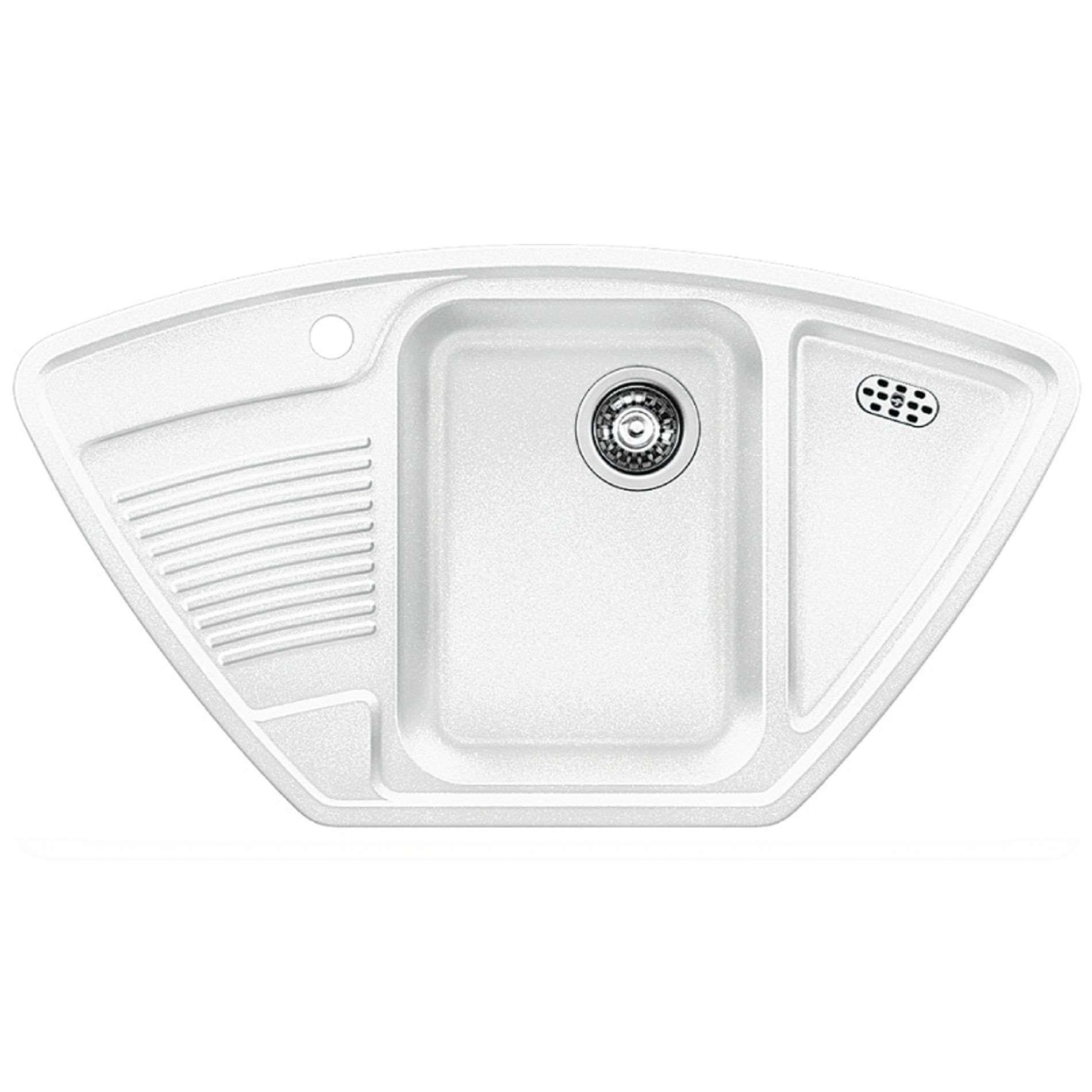 Blanco: Classic 9 E White Silgranit Sink - Kitchen Sinks & Taps